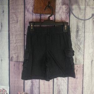 boys size XS(4/5) athletech black shorts K26